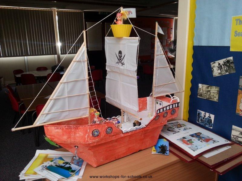 Model Pirate Ship KS! Pirates