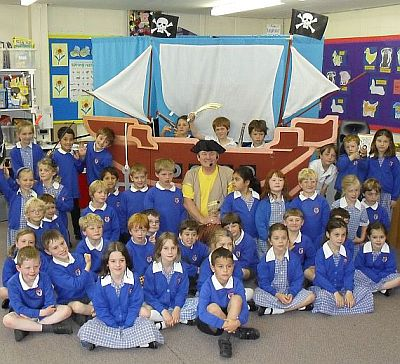 Pirate Day Class Photo