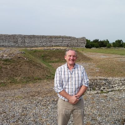 Site of Triumphal Arch, Richborough Roman Fort